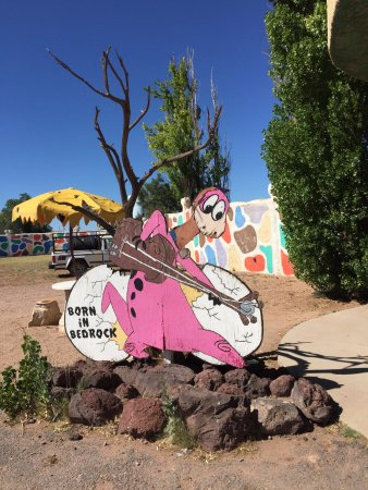 Williams, AZ: Long live Bedrock City!