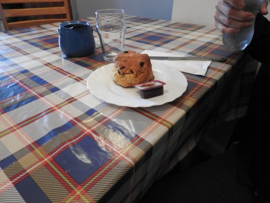 Knightstown Coffee Shop and Bistro: Coffee and a muffin