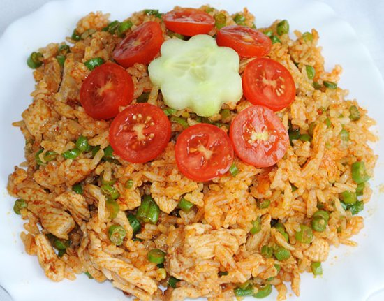 Nelson-Tasman Region, Nowa Zelandia: Spicy rice $9.99
