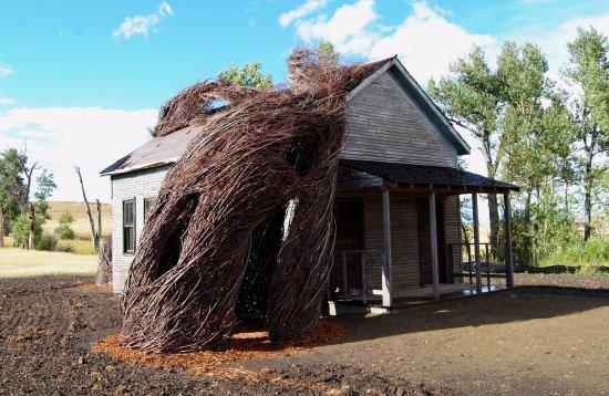 Fishtail, MT: Patrick Dougherty house