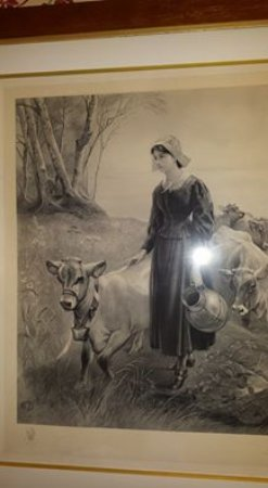 Shelburne, VT: Picture on the wall