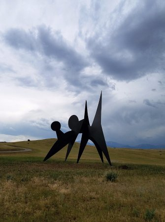 Fishtail, MT: A Calder sculpture in Montana!