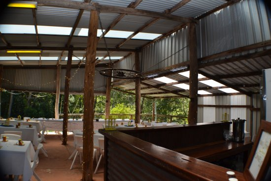 Tanawha, Australia: The Old Stable function area.