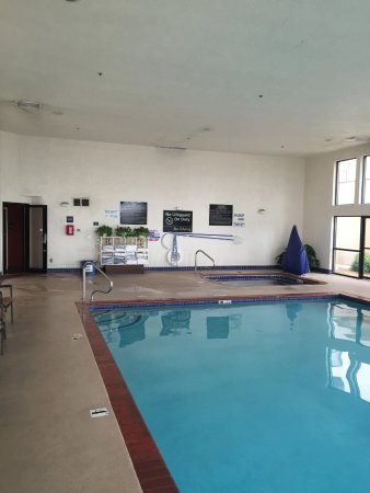 Hampton Inn St. George: Indoor swimming pool and hot tub