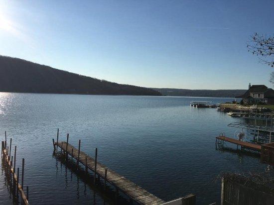 Keuka Lake: View of the lake