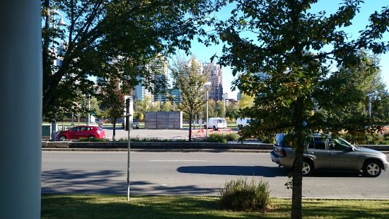 Kensington Riverside Inn: View from my riverview suite