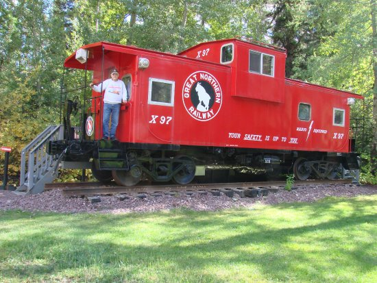 Essex, MT: Great Northern Caboose