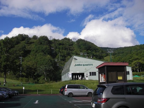 Abuta-gun, Japan: 駐車場も完備されています