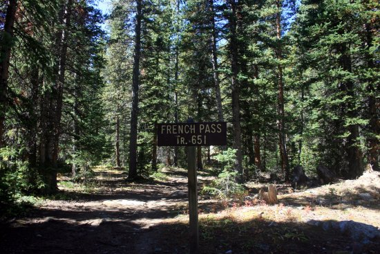Jefferson, CO: French Pass Trailhead