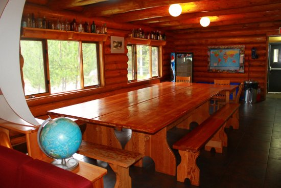 HI-Nordegg, Shunda Creek Hostel : Kitchen