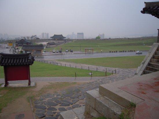 Hwaseong Fortress: 広い水原華城