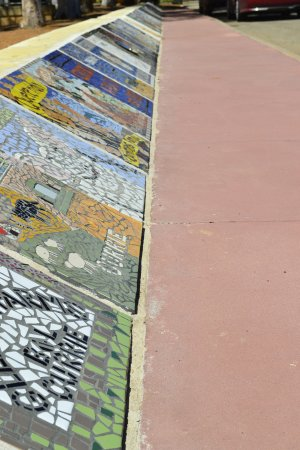 Bruce Rock Mosaic Pathway