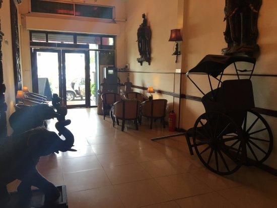 Bougainvillier Hotel: Entrance Lobby