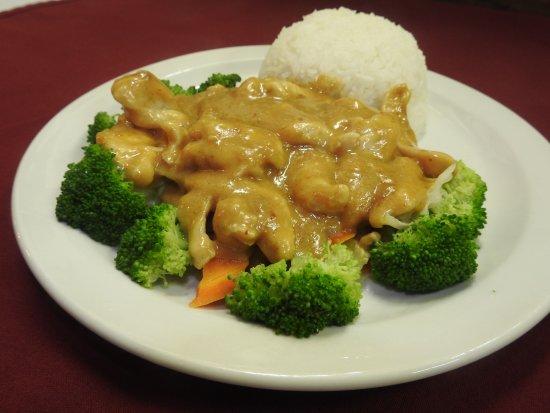 Wasilla, AK: Mekong chicken