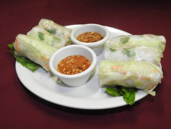 Wasilla, AK : Our popular Fresh spring rolls