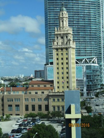 Holiday Inn Port of Miami Downtown: View from our room