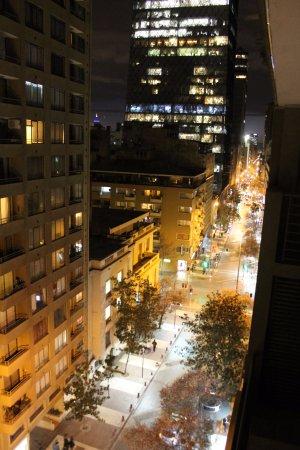 Park Plaza Apart Hotel: vista da janela