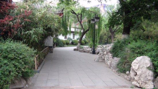 Jinan, Cina: 趵突泉周遭景觀