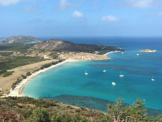 Lizard Island Resort: Going up Cook's Look
