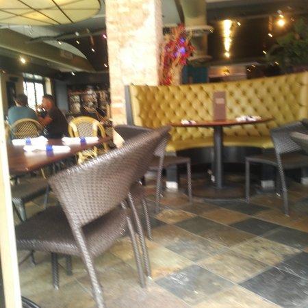 Grand Cafe: interior seating