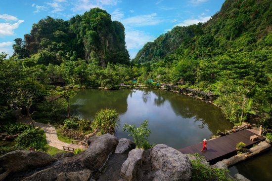 The Banjaran Hotsprings Retreat: The Banjaran is encircled by natural caves, geothermal hotsprings & pristine jungle