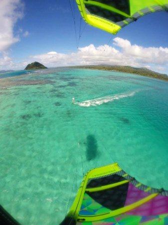 Matei, Fidji : Great kiting spot and the best learning beach in Fiji!