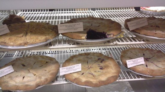 Ashland, WI: Fresh pies from the Black Bear Bakery in Glidden
