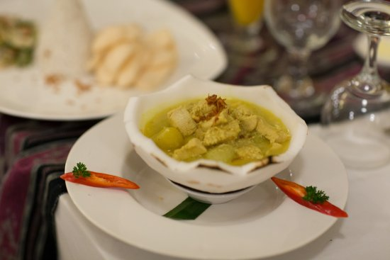 Munduk, Indonesia: Curry