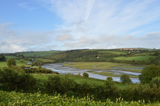 Kilbrittain, Ierland: Amazing view from the house