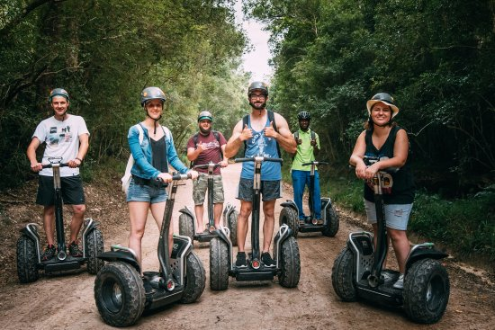 Tsitsikamma Segway Tours: Fun in the forest