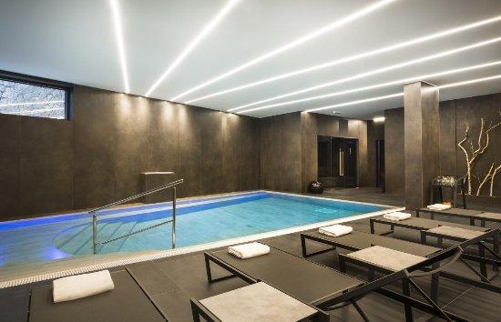 Vrbnik, Croatia: Swimming pool in Vinotel Gospoja