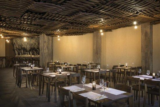 Vrbnik, Croatia: Restaurant in Vinotel Gospoja