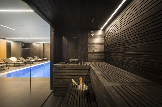 Vrbnik, Κροατία: Sauna in Vinotel Gospoja