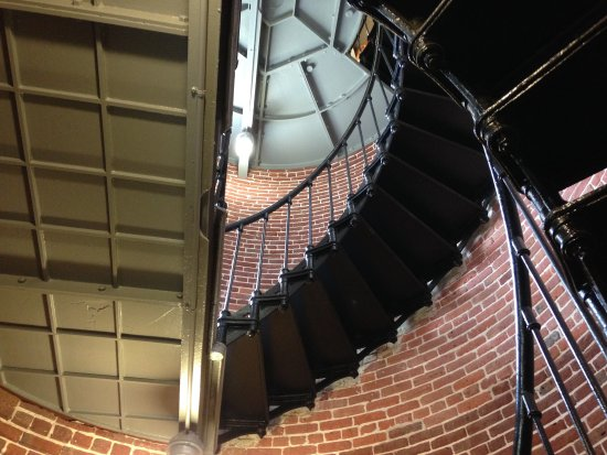 Florence, OR: the stairs to the light