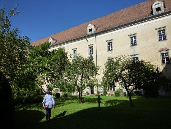 St. Florian, Áustria: 宿泊者のみ入れる庭