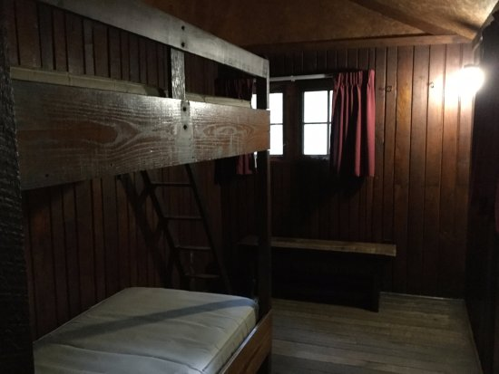 Fort Loudon, Pensilvania: Cabin bedroom