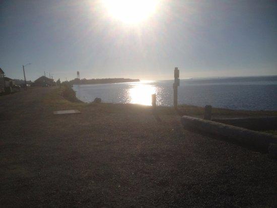 Blaine, WA: View to the south