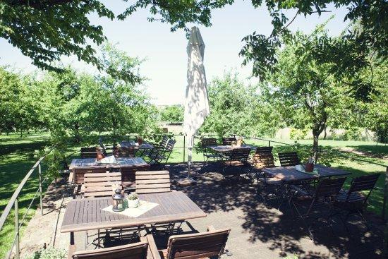 Perl, Deutschland: Gartenterrasse