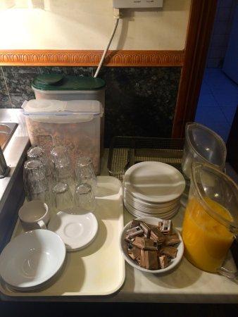 Seven Dials Hotel: Desayuno