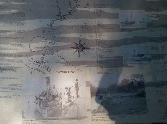 Coopernook, Australia: Historical Tourist Signage