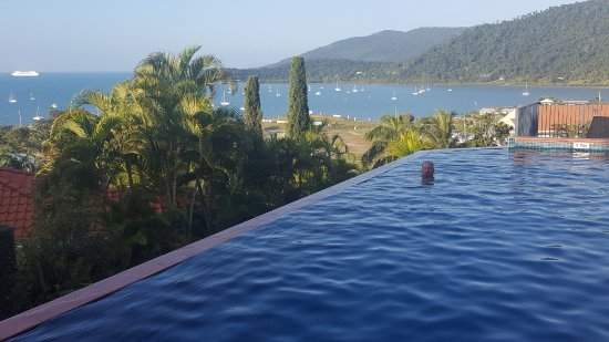 Mediterranean Resorts: View from infinity pool.