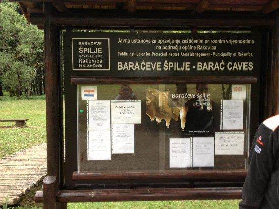 Rakovica, Croazia: indgang med adressen
