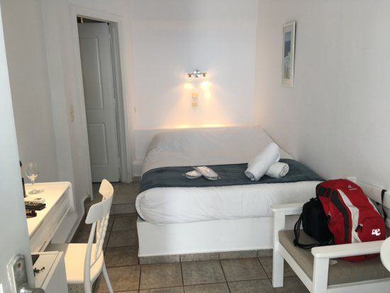 Regina Mare Hotel: Blick ins Zimmer Nr. 16
