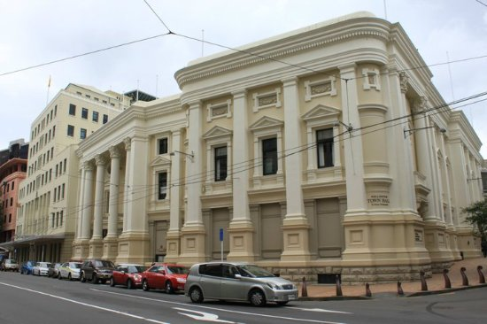 Wellington Town Hall : 其實不太起眼