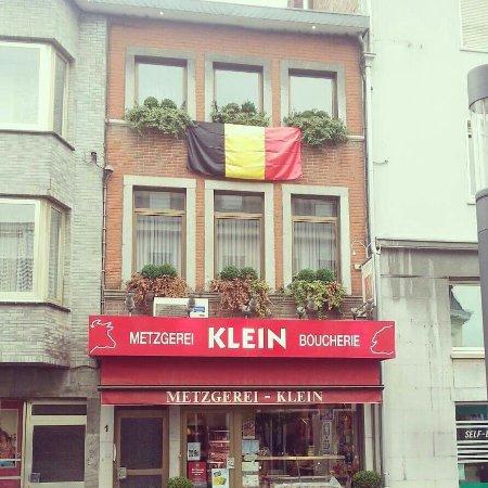 Eupen, Belgique : Metzgerei Klein