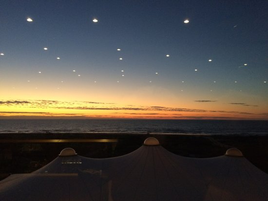 Semaphore, Australia: view from the restaurant