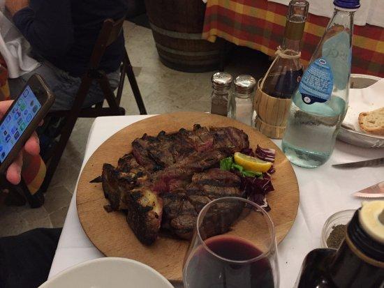 Antica Trattoria da Tito: Fiorentina