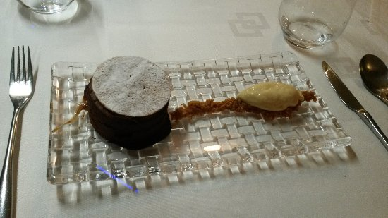 La Toq' : fondant au chocolat