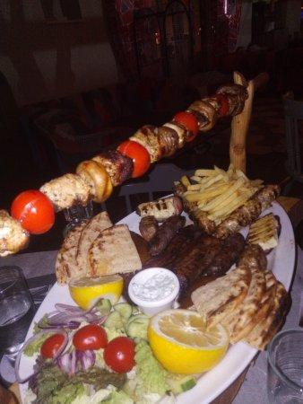 Cyprus platter for 2