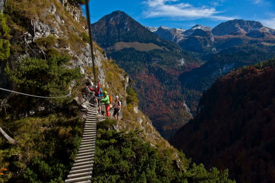 Klettersteig Jenner : Salewa klettersteig am jenner bild von kempinski hotel